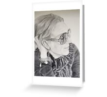 Micheline Greeting Card
