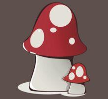 Magic mushrooms Baby Tee