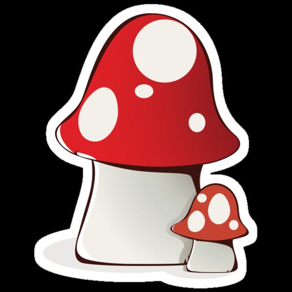 Magic mushrooms by BANDERUS MARTIN