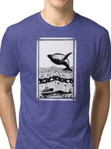 Having a Whale of a Time Tri-blend T-Shirt