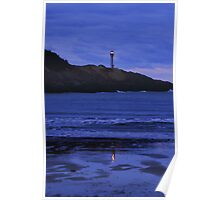 Night Falls on Cape Forchu Poster