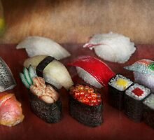 Chef - Food - Oh, I had sushi last night  by Mike  Savad