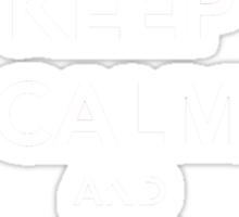 Keep Calm and Go Skate Sticker