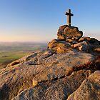 Rylstone Cross Panorama by Simon Bowen