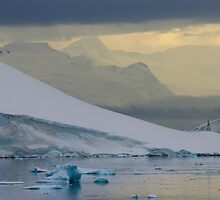 Antarctic Mountains by John Dalkin