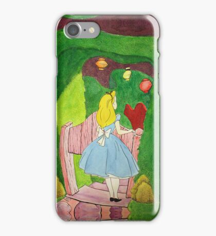 Alice at the Tea Party iPhone Case/Skin