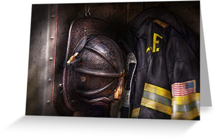 Fireman - Worn and used by Mike  Savad
