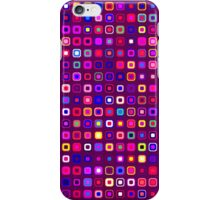 Retro Squares - Magenta [iPhone case] iPhone Case/Skin