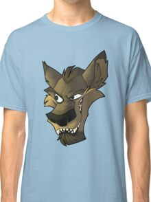 Brown wolf head with shading Classic T-Shirt