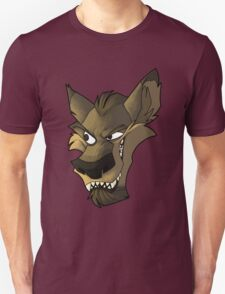 Brown wolf head with shading T-Shirt