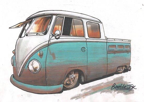 Muddy bus by Sharon Poulton