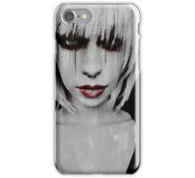 Lyric Gothic Portrait iPhone Case/Skin