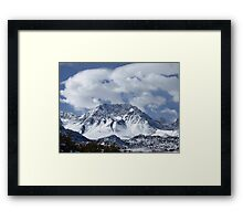 Raw And Rugged Sierras Framed Print