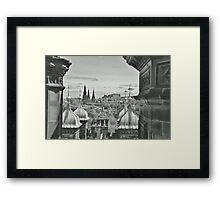 View of the City of Edinburgh Framed Print