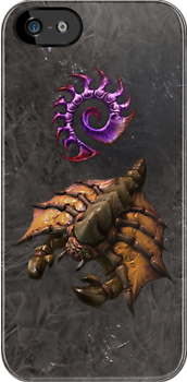 Starcraft II - Zerg Drone iPhone / iPod Cover by Aaron Campbell