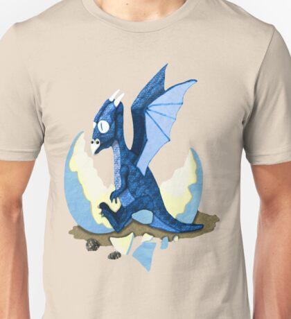 Blue Dragon Hatchling Unisex T-Shirt