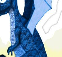 Blue Dragon Hatchling Sticker