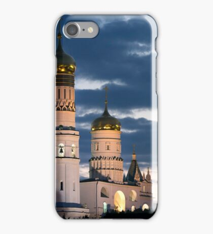 Churches of Moscow Kremlin Russia iPhone Case/Skin