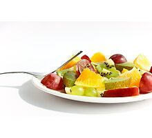 Mixed Fruit Salad Photographic Print