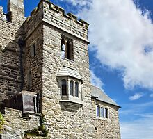 At The Edge Of The Sea ~ St Michael's Mount by Susie Peek