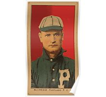 Benjamin K Edwards Collection McCredie Portland Team baseball card portrait Poster