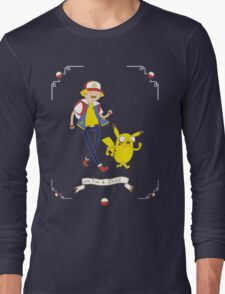 Adventures outside Pallet Town Long Sleeve T-Shirt