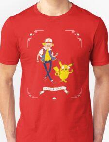 Adventures outside Pallet Town Unisex T-Shirt