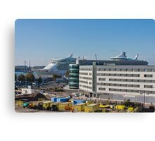 Independence of the Seas in Southampton Canvas Print