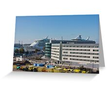 Independence of the Seas in Southampton Greeting Card