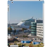 Independence of the Seas in Southampton iPad Case/Skin