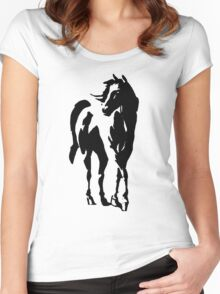 stallion Women's Fitted Scoop T-Shirt
