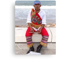 Traditional Appearance - Traje Traditional Canvas Print