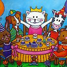 The Little Tea Party by LisaLorenz