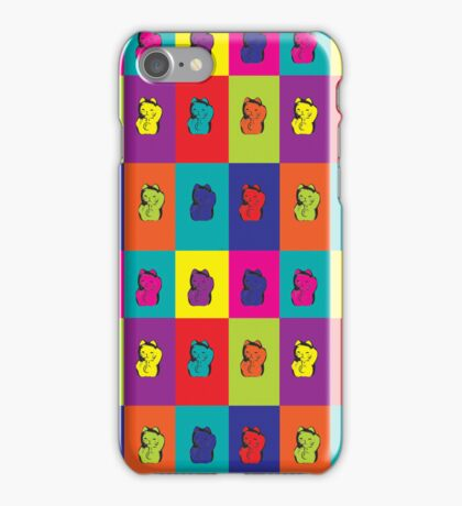 Maneki Neko Kitty Rainbow iPhone Case/Skin