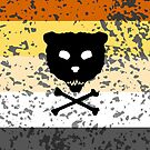 Skull and CrossBear by vinylsoda89