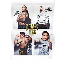krazy bee gym Poster