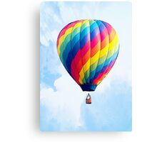 Fly Free - The Hot Air Balloon! Canvas Print