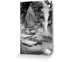 Mystery Stones Greeting Card