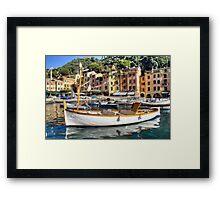 Portofino 3 Framed Print