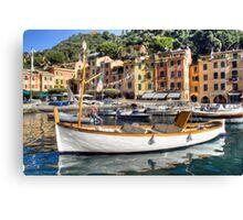 Portofino 3 Canvas Print