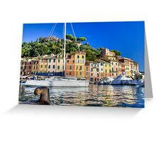 Portofino 4 Greeting Card