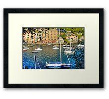 Portofino 7 Framed Print