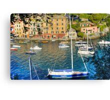 Portofino 7 Canvas Print