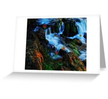 Willow River Falls 4 Greeting Card