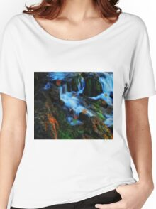 Willow River Falls 4 Women's Relaxed Fit T-Shirt
