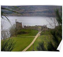 Urquhart Castle, Loch Ness, Scotland Poster