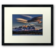 Torres Sunset Framed Print