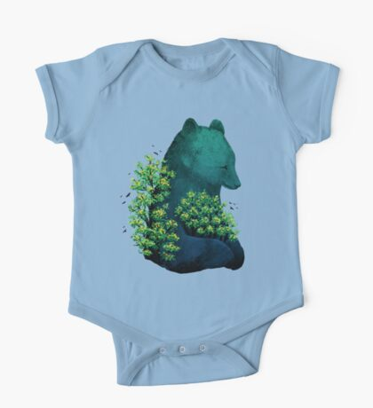 Nature's Embrace One Piece - Short Sleeve