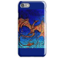 Lava dunked Dragon iPhone Case/Skin