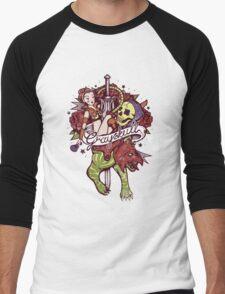 He Man's Ruin. Men's Baseball ¾ T-Shirt